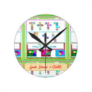 CUBO de la calle 7 del FRIKI: Lecciones del arte Reloj Redondo Mediano
