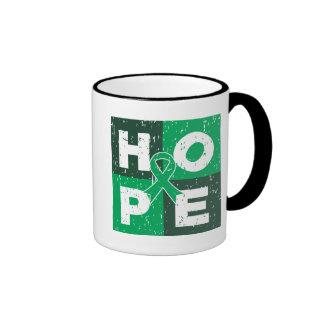 Cubo de la ESPERANZA del cáncer de hígado Tazas De Café
