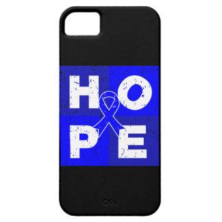 Cubo de la ESPERANZA del cáncer rectal iPhone 5 Case-Mate Carcasa