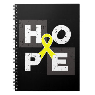 Cubo de la ESPERANZA del sarcoma de Ewings Cuadernos