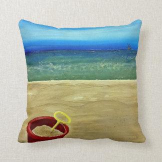 Cubo de la playa cojin