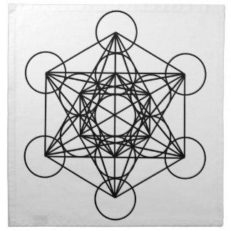 Cubo de Metatron Servilleta De Papel