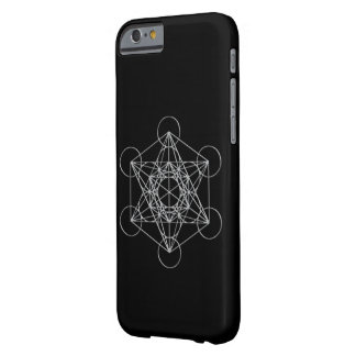 Cubo de Metatrons Funda Para iPhone 6 Barely There