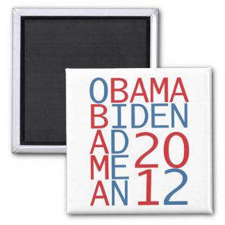 Cubo de Obama - de Biden 2012 Imán De Frigorifico