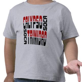 Cubo de Soca del Calypso de Trinidad Camisetas