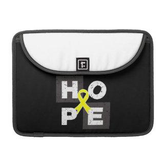 Cubo del osteosarcoma de la ESPERANZA Funda Macbook Pro