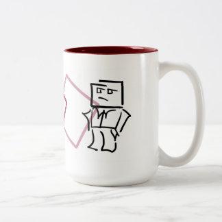 Cubo Drink > Work Mug Red