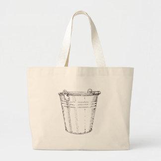 Cubo galvanizado bolsa