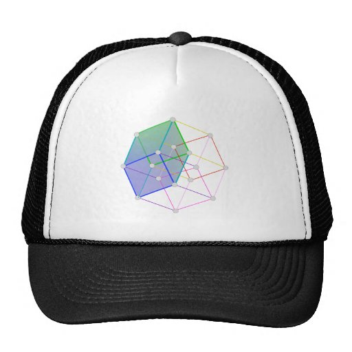 Cubo híper 2 -- ¡ciencia fresca en 4D! Gorra