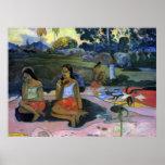 Cubo Moe del cubo de Eugène Enrique Paul Gauguin Posters