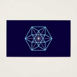 Cuboctahedron, Universe Structur, Sacred Geometry Business Card