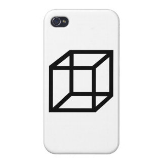 Cuboid Cover For iPhone 4