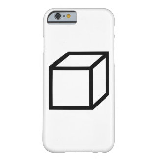 Cuboid cube barely there iPhone 6 case