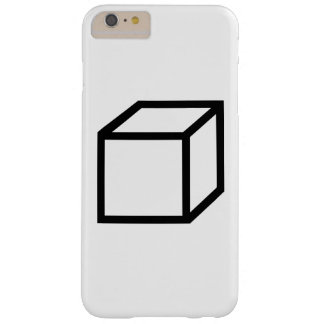 Cuboid cube barely there iPhone 6 plus case
