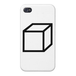 Cuboid cube case for iPhone 4