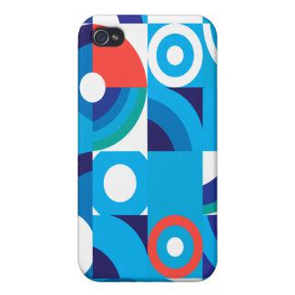 cubos abstractos iPhone 4 carcasas
