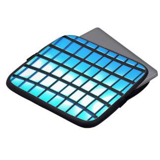 Cubos azules fundas portátiles