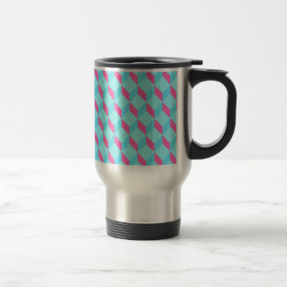 Cubos ciánicos tazas de café
