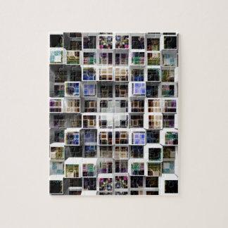 Cubos coloridos 3D Puzzle Con Fotos