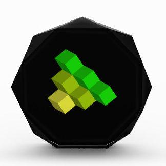 cubos coloridos 3d