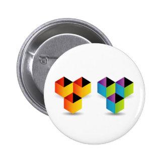 cubos coloridos pin