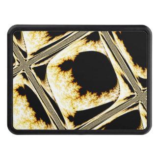 Cubos de cristal de oro tapas de remolque