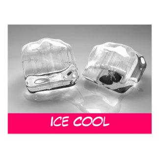 Cubos de hielo de fusión postal