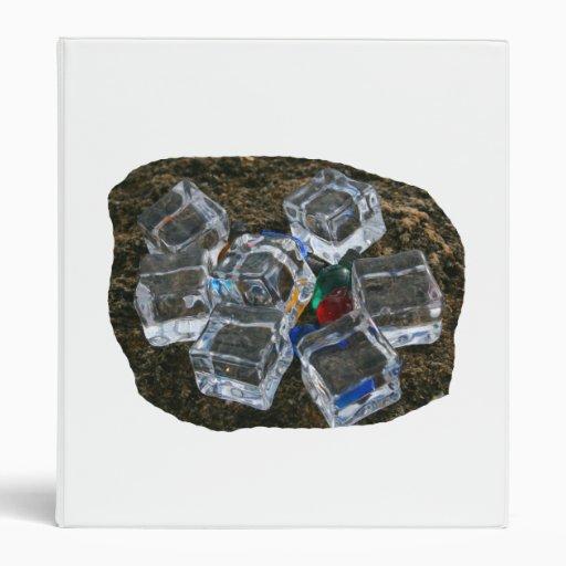 """Cubos de hielo y bombillas en la fotografía de la  carpeta 1"""""""