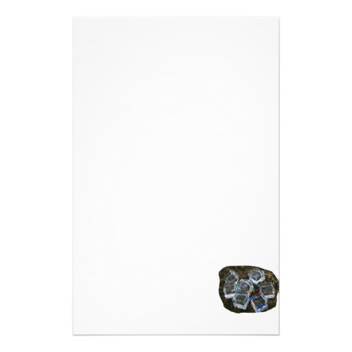 Cubos de hielo y bombillas en la fotografía de la  papeleria de diseño