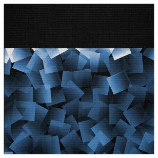 Cubos del azul de la tela telas