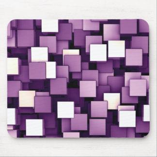Cubos futuristas abstractos Mousepads Tapete De Raton