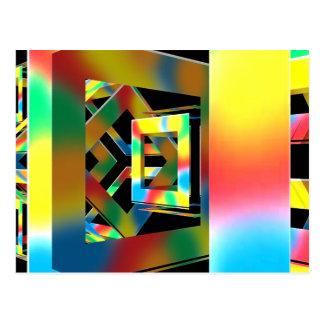 Cubos mágicos postales