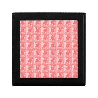 Cubos rosados. Modelo artístico geométrico Cajas De Joyas