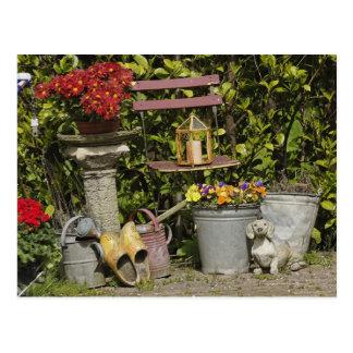 Cubos, zapatos, y flores, Zaanse Schans, Postales