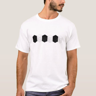 Cuboy B&W row T-Shirt
