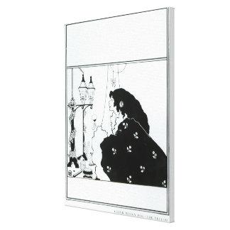 """Cubra el diseño para """"el libro amarillo"""", el volum impresión en lienzo"""