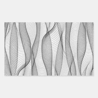 Cubra Pegatina Rectangular