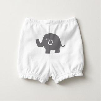 Cubrepañal unisex del bebé del elefante de los