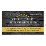 Cubrir amarillo profesional de la tarjeta de visit tarjeta de visita