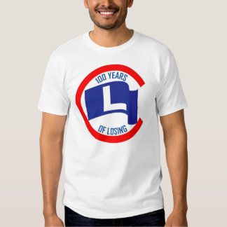Cubs 100 Years of Losing T Shirt