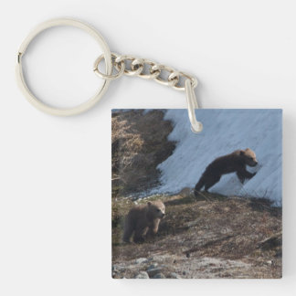 Cubs at Play Keychain