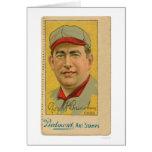 Cubs Baseball Art Stamp Bresnahan 1914 Greeting Card