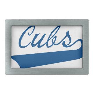 Cubs Rectangular Belt Buckle
