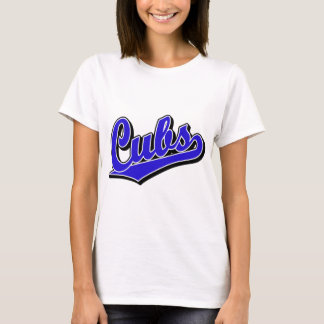 Cubs in Blue T-Shirt