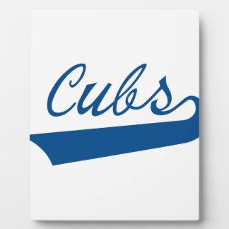 Cubs Plaque