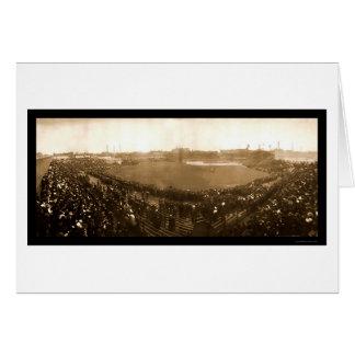 Cubs Sox World Series Photo 1906 Card