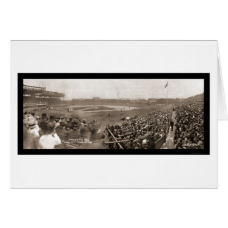 Cubs v White Sox Photo 1909 Card