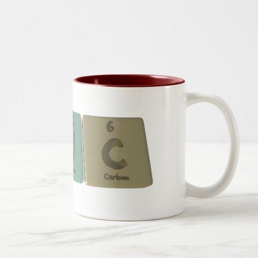 Cuc como carbono del uranio del carbono tazas de café