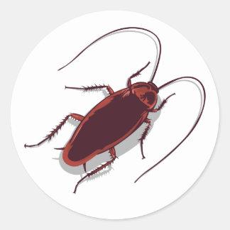 ¡Cucaracha! Pegatina Redonda