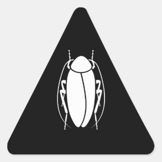 Cucaracha Pegatina Triangular